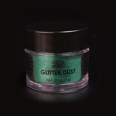Mehron Glitter Shamrock Green, Face Paint, Mehron, tmyers.com - T. Myers Magic Inc.