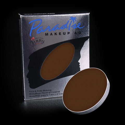 Paradise Palette Refill Single Dark Brown, Face Paint, Mehron, T. Myers Magic Inc. - T. Myers Magic Inc.