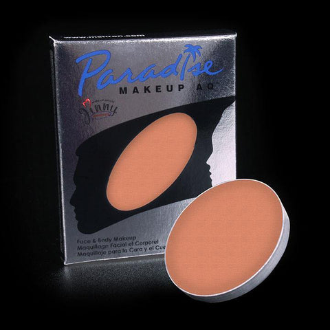 Paradise Palette Refill Single Coral, Face Paint, Mehron, tmyers.com - T. Myers Magic Inc.