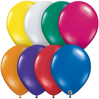 "16"" Qualatex Jewel Tone Assortment-50 Count, 16RQAJ, Qualatex, T. Myers Magic Inc. - T. Myers Magic Inc."