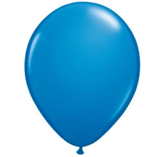 "16"" Qualatex Standard Dark Blue-50 Count, 16RQ, Qualatex, tmyers.com - T. Myers Magic Inc."