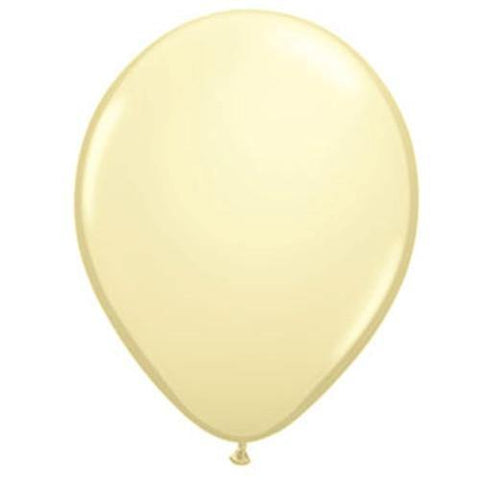 "16"" Qualatex Ivory Silk-50 Count, 16RQ, Qualatex, T. Myers Magic Inc. - T. Myers Magic Inc."