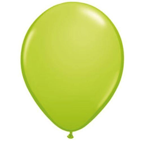 "16"" Qualatex Lime Green-50 Count, 16RQ, Qualatex, tmyers.com - T. Myers Magic Inc."