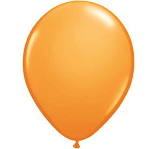 "16"" Qualatex Standard Orange-50 Count, 16RQ, Qualatex, tmyers.com - T. Myers Magic Inc."