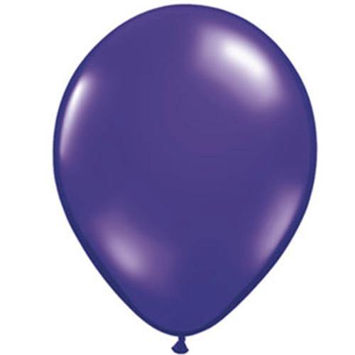 "16"" Qualatex Jewel Quartz Purple-50 Count, 16RQ, Qualatex, T. Myers Magic Inc. - T. Myers Magic Inc."