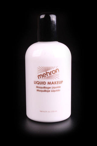 Mehron Liquid Makeup White, Face Paint, Mehron, tmyers.com - T. Myers Magic Inc.