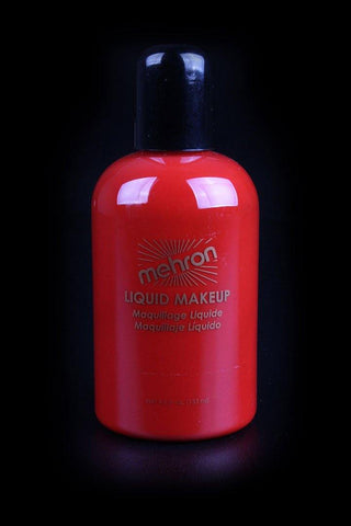 Mehron Liquid Makeup Red