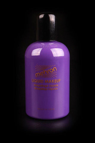 Mehron Liquid Makeup Purple, Face Paint, Mehron, tmyers.com - T. Myers Magic Inc.