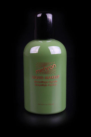 Mehron Liquid Makeup Green, Face Paint, Mehron, tmyers.com - T. Myers Magic Inc.