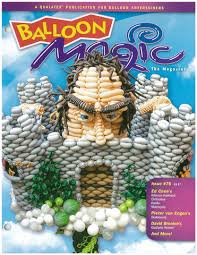 Balloon Magic Magazine #76 - Jack in the Bean Stalk, Magazines, Qualatex, T. Myers Magic Inc. - T. Myers Magic Inc.
