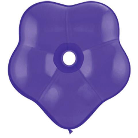 "6"" Qualatex Blossom Purple Violet-50 Count, 6BQ, Qualatex, tmyers.com - T. Myers Magic Inc."