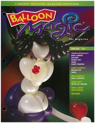 Balloon Magic Magazine #58 - Vampy Vixen, Magazines, Qualatex, tmyers.com - T. Myers Magic Inc.