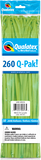 260Q Pak! Fashion Tone Lime Green-50 Count, 260Q-Pak, Qualatex, T. Myers Magic Inc. - T. Myers Magic Inc.