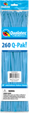 260Q Pak! Neon Blue-50 Count, 260Q-Pak, Qualatex, tmyers.com - T. Myers Magic Inc.