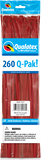 260Q Pak! Jewel Tone Ruby Red-50 Count, 260Q-Pak, Qualatex, tmyers.com - T. Myers Magic Inc.
