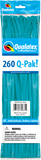 260Q Pak! Fashion Tone Tropical Teal-50 Count, 260Q-Pak, Qualatex, T. Myers Magic Inc. - T. Myers Magic Inc.