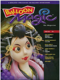 Balloon Magic Magazine #61 - WBC 2010, Magazines, Qualatex, tmyers.com - T. Myers Magic Inc.