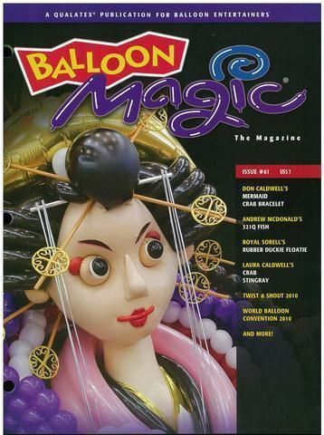 Balloon Magic Magazine #61 - WBC 2010