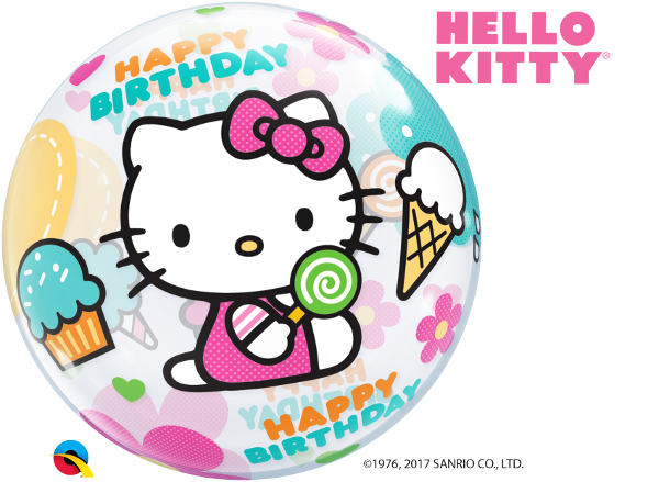 Hello Kitty Happy Birthday Bubble 1 Count Tmyers Com