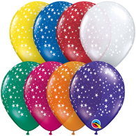 5RQI Round Stars Around Jewel Assorted, 5RQI, Qualatex, T. Myers Magic Inc. - T. Myers Magic Inc.