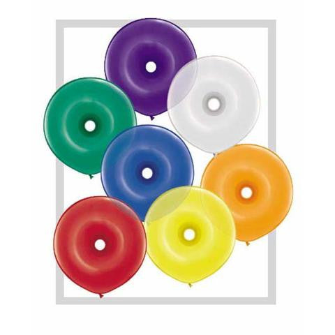 "16"" Donut Jewel Tone Assortment-50 Count, 16DQAJ, Qualatex, T. Myers Magic Inc. - T. Myers Magic Inc."