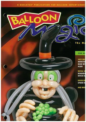 Balloon Magic Magazine #68 - Mesmerizing Witch, Magazines, Qualatex, tmyers.com - T. Myers Magic Inc.