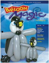 Balloon Magic Magazine #69 - Perky Penguin, Magazines, Qualatex, tmyers.com - T. Myers Magic Inc.