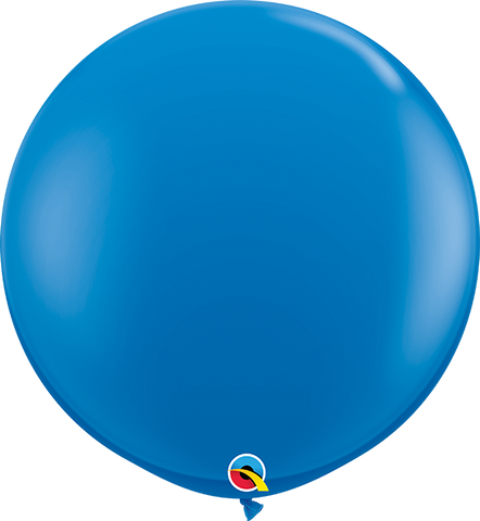 "36"" Qualatex Standard Dark Blue Round - 2 Count, 3FTRQS, Qualatex, tmyers.com - T. Myers Magic Inc."