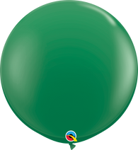 3' Stamdard Green Single Round- 2 Count, 3FTRQS, Qualatex, tmyers.com - T. Myers Magic Inc.