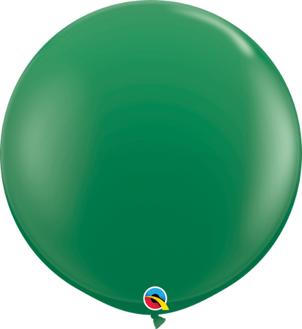 "36"" Qualatex Standard Green Round- 2 Count, 3FTRQS, Qualatex, tmyers.com - T. Myers Magic Inc."