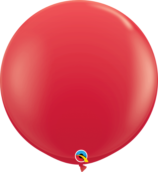 "36"" Qualatex Standard Red Round - 2 Count, 3FTRQS, Qualatex, tmyers.com - T. Myers Magic Inc."
