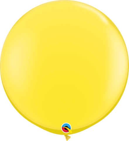 "36"" Qualatex Standard Yellow Round - 2 Count, 3FTRQS, Qualatex, tmyers.com - T. Myers Magic Inc."