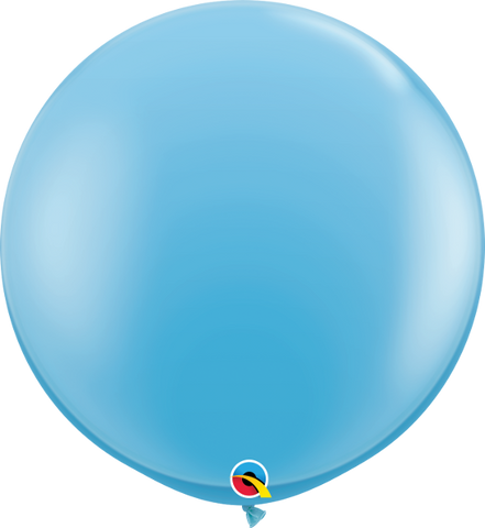 "36"" Qualatex Standard Light Blue Round - 2 Count, 3FTRQS, Qualatex, tmyers.com - T. Myers Magic Inc."