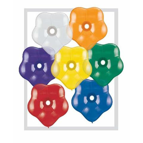 "6"" Qualatex Blossom Jewel Assortment-100 Count, 6BQA, Qualatex, tmyers.com - T. Myers Magic Inc."