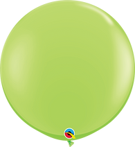 "36"" Qualatex Fashion Lime Green Round- 2 Count, 3FTQR, Qualatex, tmyers.com - T. Myers Magic Inc."