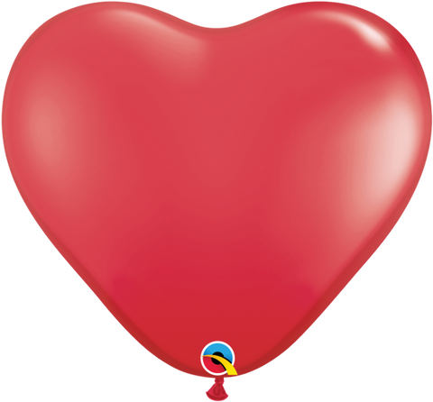 "3"" Red Heart - 2 Count"