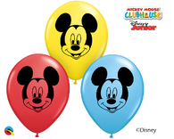 5RQI MICKEY MOUSE FACE ASSORTMENT, 5RQI, Qualatex, T. Myers Magic Inc. - T. Myers Magic Inc.