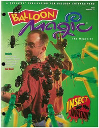 Balloon Magic Magazine #17 - Insect Invasion, Magazines, Qualatex, tmyers.com - T. Myers Magic Inc.