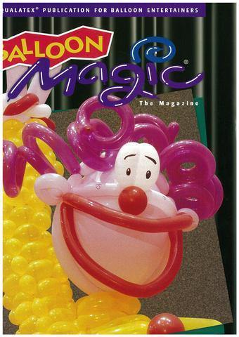 Balloon Magic Magazine #19 - Retro Rocker, Magazines, Qualatex, tmyers.com - T. Myers Magic Inc.