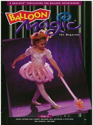 Balloon Magic Magazine #22 - Costume Party, Magazines, Qualatex, tmyers.com - T. Myers Magic Inc.