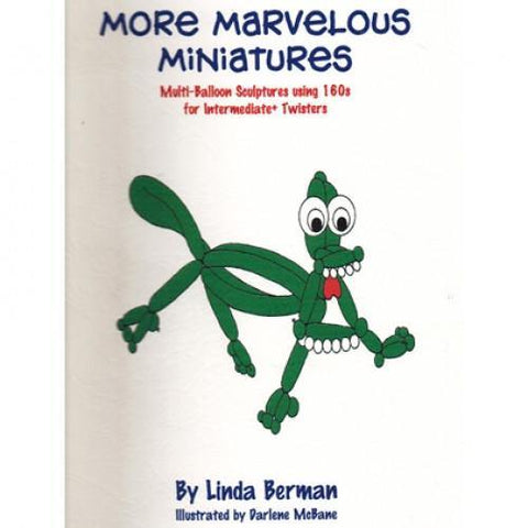 More Marvelous Miniatures by Linda Berman, Book, Linda Berman, tmyers.com - T. Myers Magic Inc.