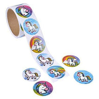 Unicorn Emoticon ROLL STICKERS 100/RL
