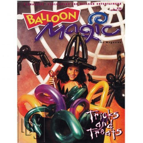 Balloon Magic Magazine Autumn 1995-Tricks & Treats, Magazines, Qualatex, tmyers.com - T. Myers Magic Inc.