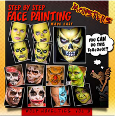Step by Step Face Painting Made Easy-Monsters Vol 3, Book, WolfeFX, tmyers.com - T. Myers Magic Inc.