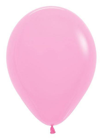 "5""Round Betallatex Fashion Bubble Gum Pink-100 Count, 5RBF, Betallic, tmyers.com - T. Myers Magic Inc."