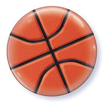 "5"" Round Qualatex Basketball-100 Count, 5RQ, Qualatex, T. Myers Magic Inc. - T. Myers Magic Inc."