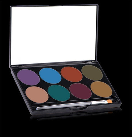 Paradise Nuance Palette kit, Face Paint, Mehron, tmyers.com - T. Myers Magic Inc.