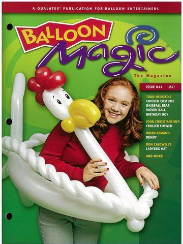 Balloon Magic Magazine #44 - MidWinter, Magazines, Qualatex, T. Myers Magic Inc. - T. Myers Magic Inc.