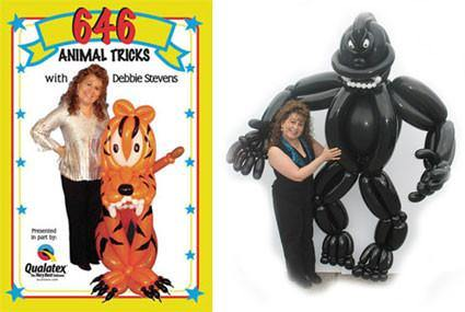 646 ANIMAL TRICKS DVD, DVD, Debbie Stevens & Qualatex, T. Myers Magic Inc. - T. Myers Magic Inc.