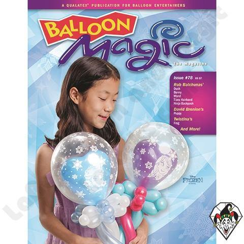Balloon Magic Magazine #78 - Disney Frozen